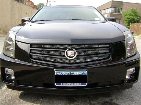 Cadillac Cts Grills by 2007 Cadillac Cts Black Grill