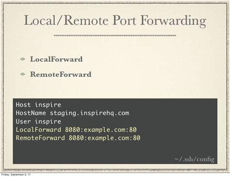 ssh remote port ssh