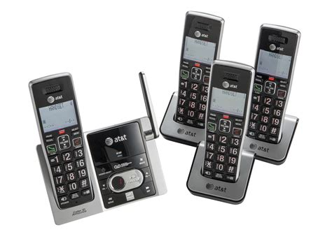 new at t dect 6 0 cordless home phone telephone 4 set set