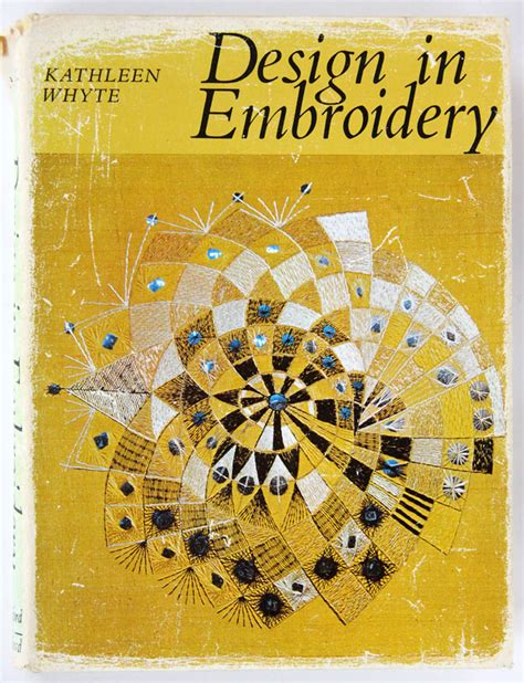 Design In Embroidery Kathleen Whyte | broderi tex antik