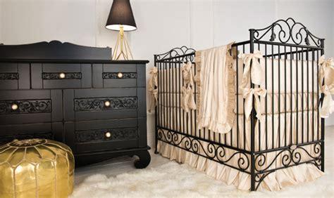 Black Iron Baby Crib Bratt Decor Baby Furniture Collections