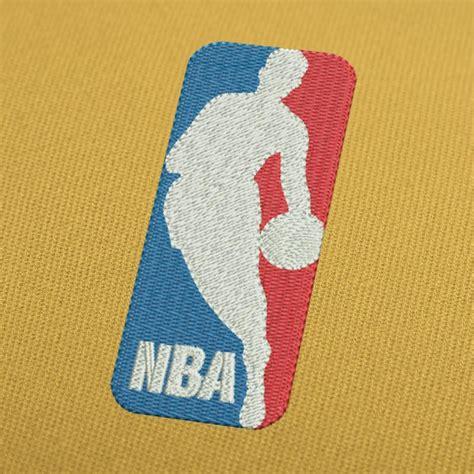 embroidery pattern logo nba basketball logo embroidery design