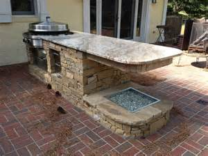 How To Build An Outdoor Kitchen Island how to build a outdoor kitchen fascinating creamy marble countertop of