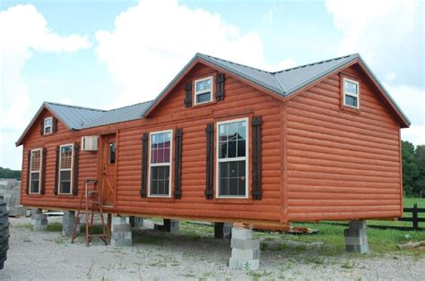 7 beautiful modular log cabins from amish cabin company