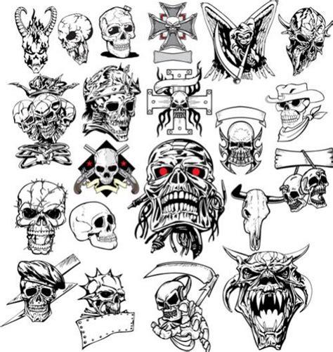 new school tattoo vector กราฟ ก ห วกะโหลก ภาพเวกเตอร ร ปกราฟฟ กลายเส น ดาวน โหลด