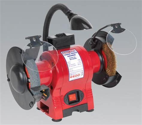 wire wheel bench grinder bg150xwl sealey bench grinder 150mm wire wheel