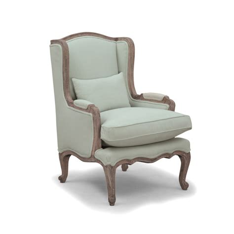 louis french armchair eau de nil within home