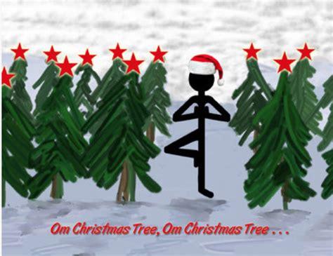 images of christmas yoga tis the season for yoga