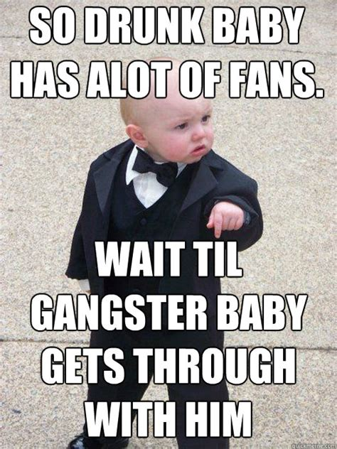 Baby In Tuxedo Meme - mobster baby meme www imgkid com the image kid has it