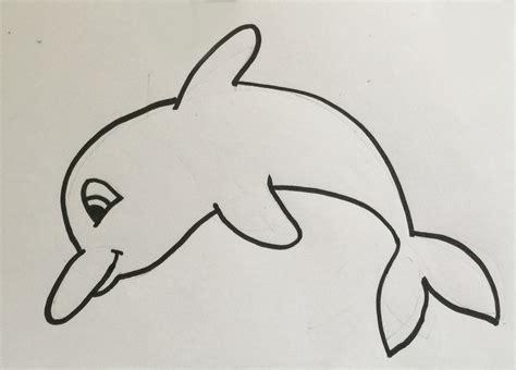 imagenes mas faciles para dibujar c 243 mo dibujar un delf 237 n 161 hoy no hay cole