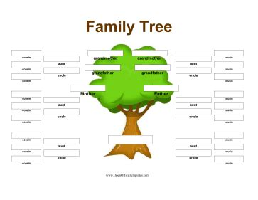 printable family tree software free printables for open source software