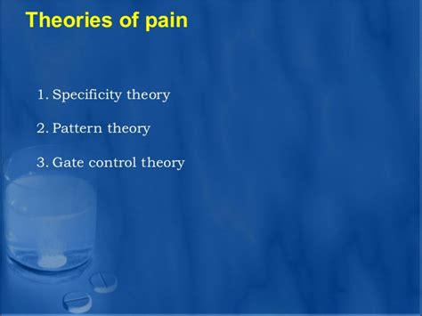 pattern theory pain analgesics dental implant courses