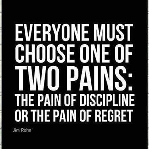 themes of the story regret the pain of discipline or the pain of regret pictures