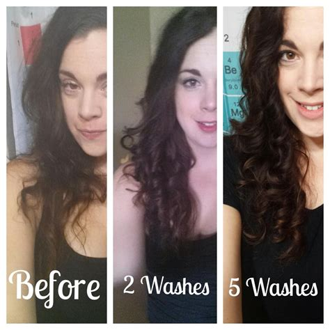 Monat Hair Reviews by Before After Monat The Beginning Inner Curl