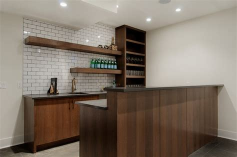 Home Bar Furniture Calgary Basement Bar Contemporary Basement Calgary By