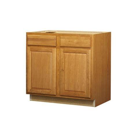Lowes Kitchen Classics 36 In Portland Oak Door And Drawer Kitchen Cabinets Doors And Drawers