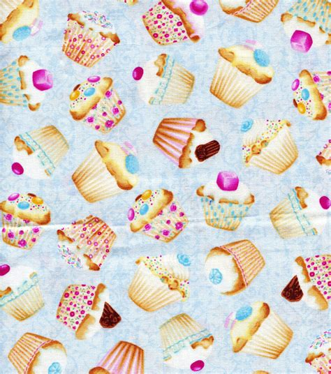 Novelty Quilting Fabric by Novelty Quilt Fabric Cupcakes Jo