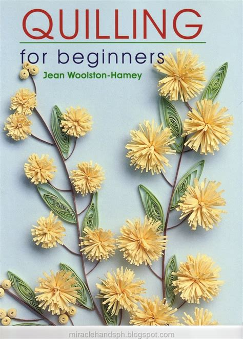free craft book quilling for beginners miracle