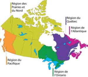 map of the regions of canada r 233 gions transports canada
