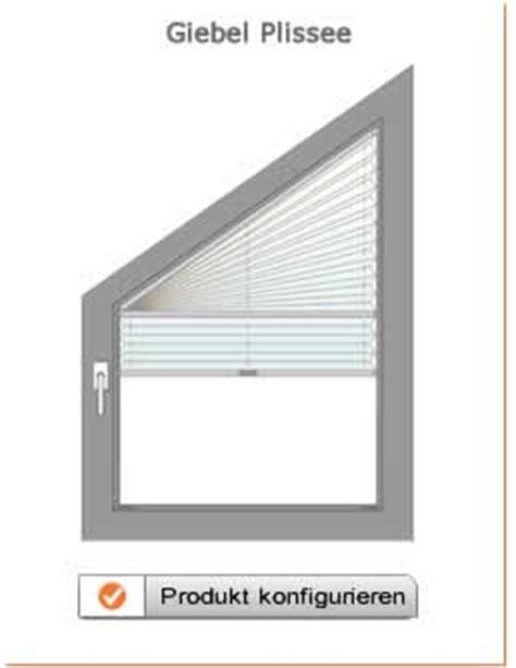 jalousie dreiecksfenster produktbeschreibung plissee giebel