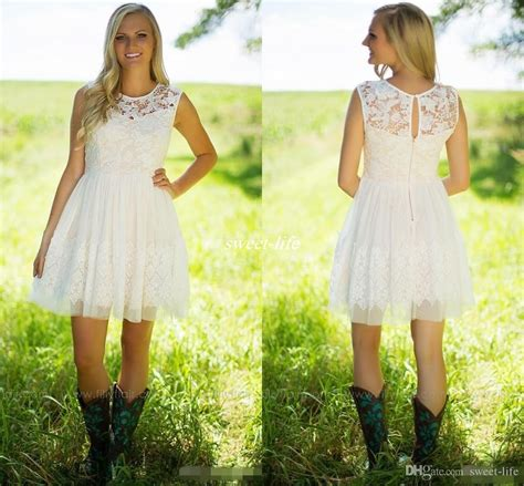 lace country style dresses 2017 country style ivory lace bridesmaid dresses