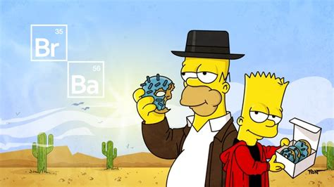 breaking bad couch gag the simpsons pay tribute to breaking bad in this couch gag