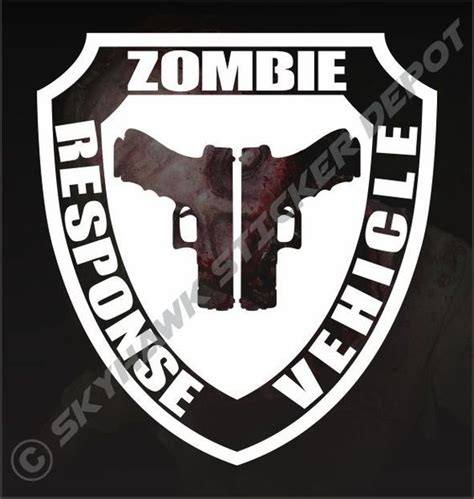 zombie jeep decals pistols walking dead and jeeps on pinterest