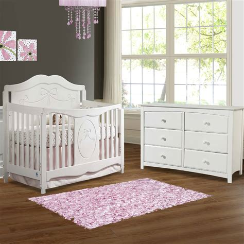 Ransel Paket 4in1 Clover Pink white crib and dresser bestdressers 2017