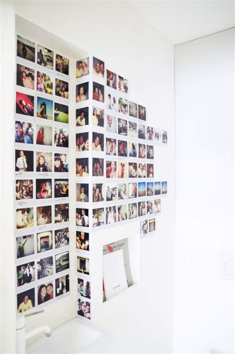 Mur Photo Polaroid by 25 Id 233 Es D 233 Co Pour Habiller Un Mur