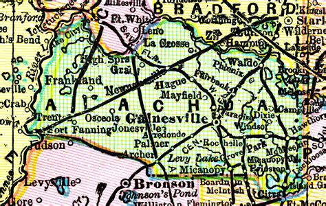 Alachua County Search Alachua County 1898