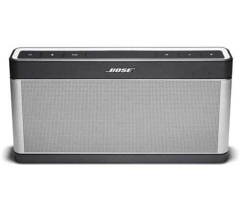 Speaker Bose Mobil bose soundlink mobile iii wireless portable speaker grey deals pc world