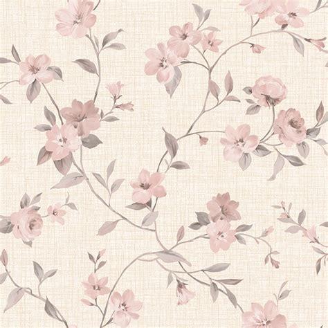 jual wallpaper dinding motif soft flower   lapak zz