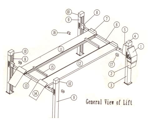 4 post car lift wiring diagram wiring diagram with