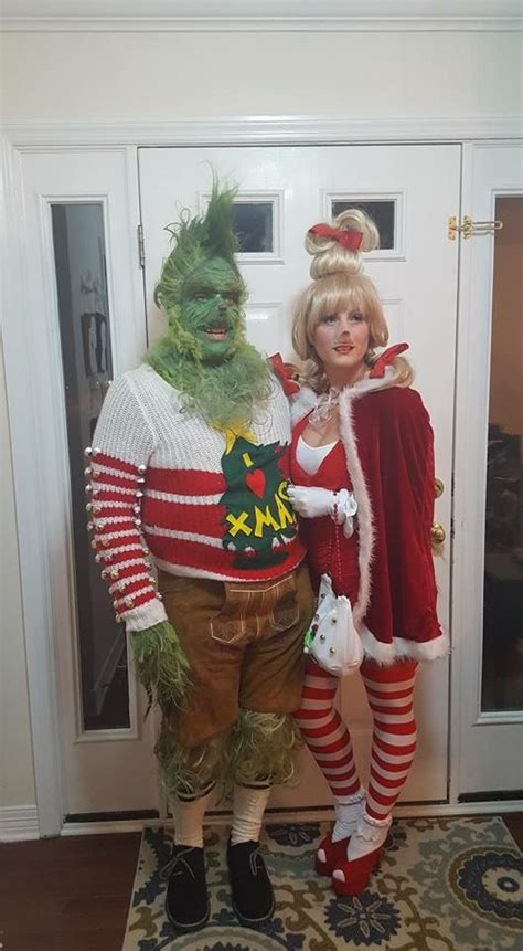 diy grinch and lou who so grinch and lou who costume for couples costumes lou