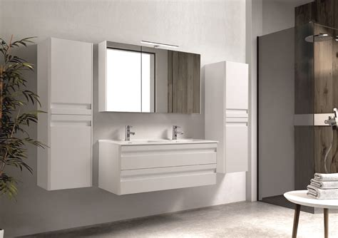 Ordinaire Hauteur Miroir Salle De Bain #8: Meuble-blanc-brillant-120cm-2t-barcelona-ambiance-bd.jpg