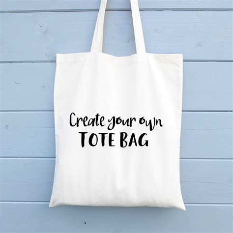 create your own tote bag numonday