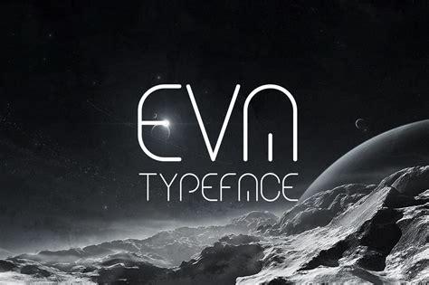 eva typeface sans serif fonts  creative market