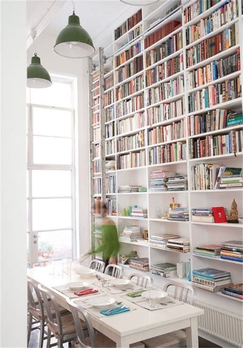 bookshelves in dining room design crush dine in libraries centsational girl
