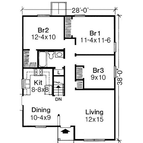 3 bedroom house plans 1000 sq ft house plans 3 bedroom search bogard