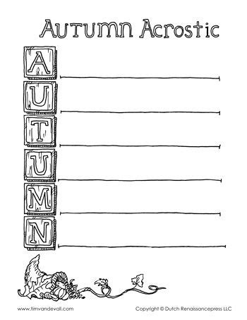acrostic poem template templates archives tim s printables