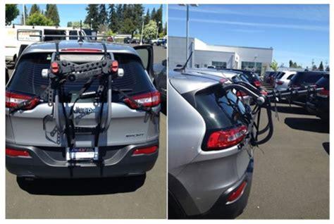 best bike rack for jeep grand cherokee fit of yakima kingjoe y02620 trunk mount bike rack on