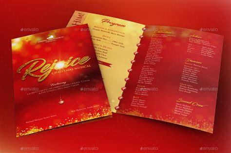 rejoice christmas cantata program template  godserv