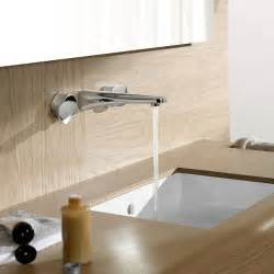 wall mounted faucet bathrooms design
