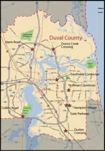 map of jacksonville florida jacksonville real estate and market trends