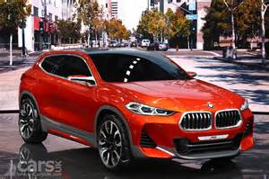 Bmw X2 Bmw X2 Concept At Previews A Production X2 As A Sporty X1 Cars Uk