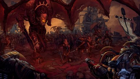 grey knights wallpaper 1920x1080 grey knights and imperial guard vs khorne daemonkin