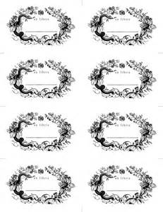 Free Printable Bookplates Templates by Made With Bookplates Design Sponge