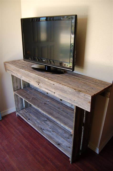 Tv Console Table Wood Console Table Large Media Tv Table Recycled Wood Furniture Organic Wood Furniture