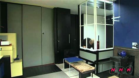schroder house interior rietveld schr 246 derhuis rietveld schr 246 der house unesco nhk youtube