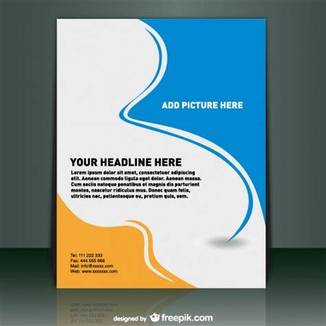 poster template vector free download